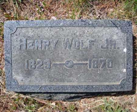 WOLF, HENRY - Schenectady County, New York | HENRY WOLF - New York Gravestone Photos