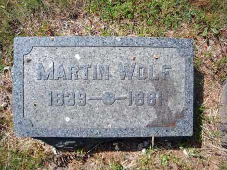 WOLF, MARTIN - Schenectady County, New York   MARTIN WOLF - New York Gravestone Photos
