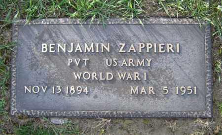ZAPPIERI, BENJAMIN - Schenectady County, New York   BENJAMIN ZAPPIERI - New York Gravestone Photos
