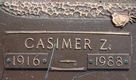 ZARZYCKI, CASIMER - Schenectady County, New York | CASIMER ZARZYCKI - New York Gravestone Photos