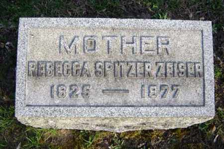 SPITZER, REBECCA - Schenectady County, New York | REBECCA SPITZER - New York Gravestone Photos