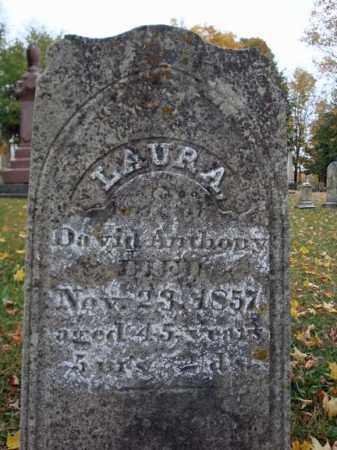 ANTHONY, LAURA - Schoharie County, New York | LAURA ANTHONY - New York Gravestone Photos