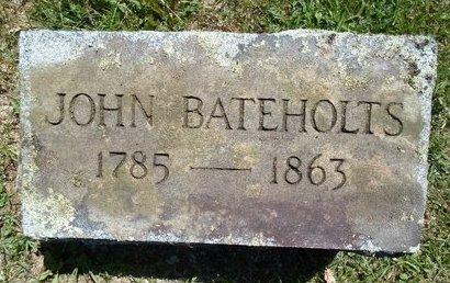 BATEHOLTS, JOHN - Schoharie County, New York | JOHN BATEHOLTS - New York Gravestone Photos