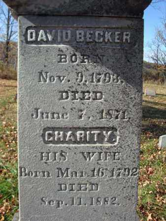 BECKER, CHARITY - Schoharie County, New York | CHARITY BECKER - New York Gravestone Photos