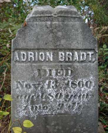 BRADT, ADRION - Schoharie County, New York | ADRION BRADT - New York Gravestone Photos