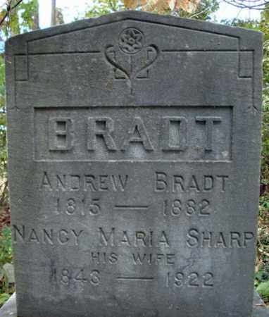 BRADT, NANCY MARIA - Schoharie County, New York | NANCY MARIA BRADT - New York Gravestone Photos