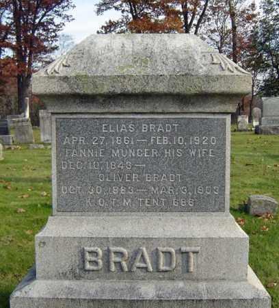 BRADT, OLIVER - Schoharie County, New York | OLIVER BRADT - New York Gravestone Photos