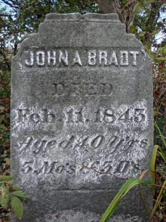 BRADT, JOHN A - Schoharie County, New York | JOHN A BRADT - New York Gravestone Photos