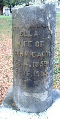 CADY, ELLA - Schoharie County, New York | ELLA CADY - New York Gravestone Photos