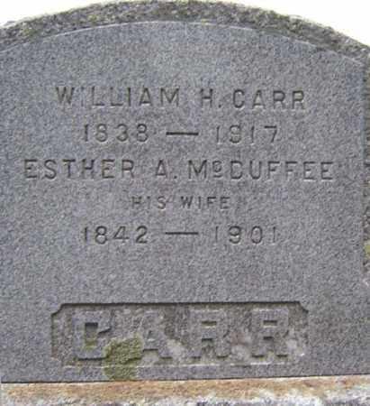 CARR, WILLIAM H - Schoharie County, New York | WILLIAM H CARR - New York Gravestone Photos
