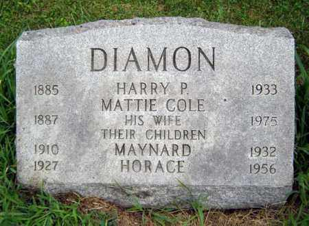 DIAMON, HARRY P - Schoharie County, New York | HARRY P DIAMON - New York Gravestone Photos