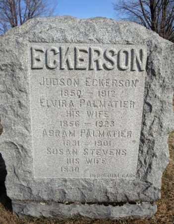 ECKERSON, JUDSON - Schoharie County, New York | JUDSON ECKERSON - New York Gravestone Photos