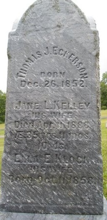 ECKERSON, JANE L - Schoharie County, New York | JANE L ECKERSON - New York Gravestone Photos
