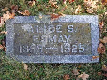 ESMAY, ALICE S - Schoharie County, New York | ALICE S ESMAY - New York Gravestone Photos