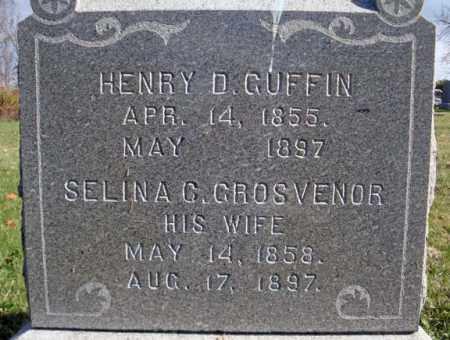 GROSVENOR GUFFIN, SELINA C - Schoharie County, New York | SELINA C GROSVENOR GUFFIN - New York Gravestone Photos