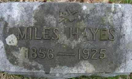 HAYES, MILES - Schoharie County, New York   MILES HAYES - New York Gravestone Photos