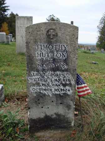 HUTTON (RW), TIMOTHY - Schoharie County, New York | TIMOTHY HUTTON (RW) - New York Gravestone Photos