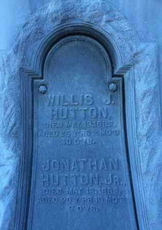 HUTTON, JONATHAN, JR. - Schoharie County, New York | JONATHAN, JR. HUTTON - New York Gravestone Photos