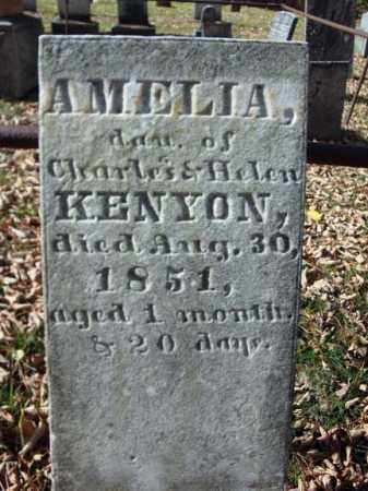 KENYON, AMELIA - Schoharie County, New York | AMELIA KENYON - New York Gravestone Photos