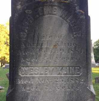WILBER KLINE, CATHALINE - Schoharie County, New York | CATHALINE WILBER KLINE - New York Gravestone Photos