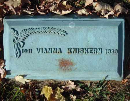 KNISKERN, VIANNA - Schoharie County, New York | VIANNA KNISKERN - New York Gravestone Photos