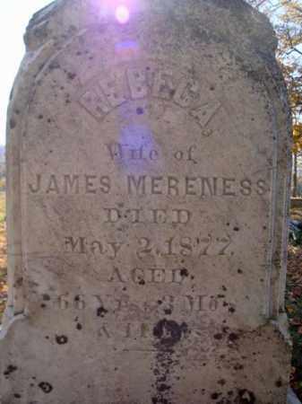 MERENESS, REBECA - Schoharie County, New York | REBECA MERENESS - New York Gravestone Photos