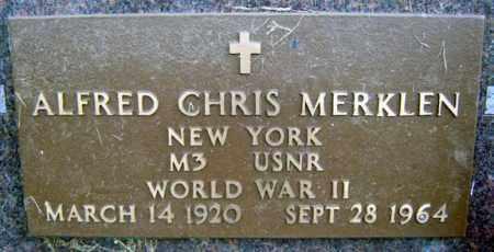 MERKLEN (WWII), ALFRED CHRIS - Schoharie County, New York | ALFRED CHRIS MERKLEN (WWII) - New York Gravestone Photos