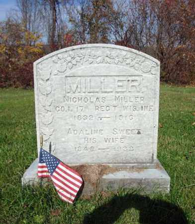 MILLER, ADALINE - Schoharie County, New York | ADALINE MILLER - New York Gravestone Photos