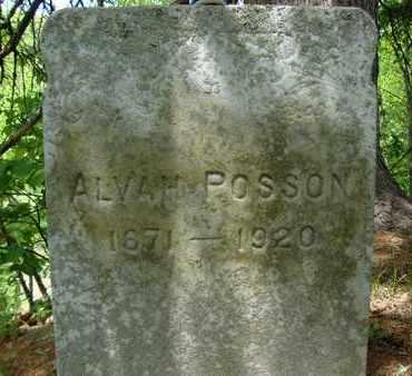 POSSON, ALVAH - Schoharie County, New York | ALVAH POSSON - New York Gravestone Photos