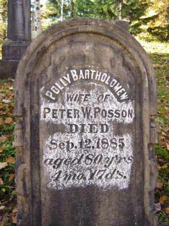 POSSON, POLLY - Schoharie County, New York   POLLY POSSON - New York Gravestone Photos