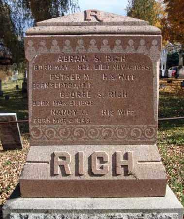 RICH, ESTHER M - Schoharie County, New York | ESTHER M RICH - New York Gravestone Photos