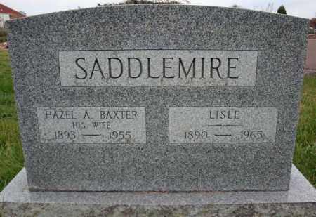 BAXTER SADDLEMIRE, HAZEL A - Schoharie County, New York | HAZEL A BAXTER SADDLEMIRE - New York Gravestone Photos