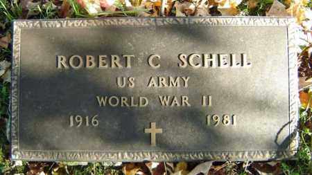 SCHELL, ROBERT C - Schoharie County, New York | ROBERT C SCHELL - New York Gravestone Photos
