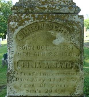 SCHELL, SIMEON - Schoharie County, New York   SIMEON SCHELL - New York Gravestone Photos
