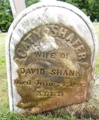 SHANK, CATY - Schoharie County, New York | CATY SHANK - New York Gravestone Photos