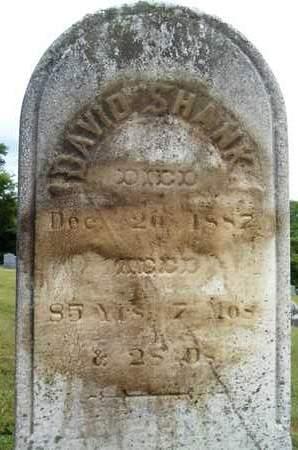 SHANK, DAVID - Schoharie County, New York | DAVID SHANK - New York Gravestone Photos