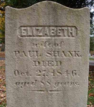 SHANK, ELIZABETH - Schoharie County, New York | ELIZABETH SHANK - New York Gravestone Photos