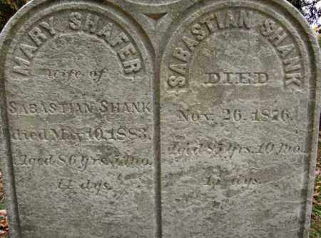 SHANK, SABASTIAN - Schoharie County, New York | SABASTIAN SHANK - New York Gravestone Photos
