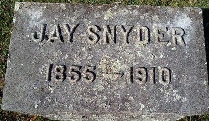 SNYDER, JAY - Schoharie County, New York   JAY SNYDER - New York Gravestone Photos