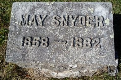 SNYDER, MAY - Schoharie County, New York | MAY SNYDER - New York Gravestone Photos