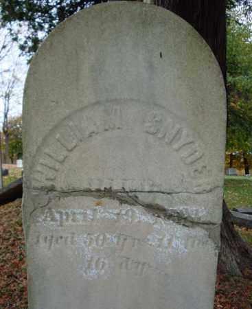 SNYDER, WILLIAM - Schoharie County, New York   WILLIAM SNYDER - New York Gravestone Photos
