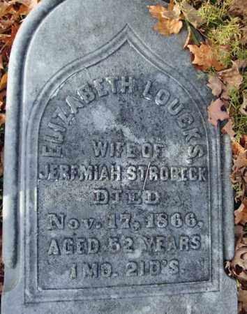 STROBECK, ELIZABETH - Schoharie County, New York | ELIZABETH STROBECK - New York Gravestone Photos