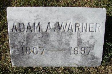 WARNER, ADAM A - Schoharie County, New York | ADAM A WARNER - New York Gravestone Photos