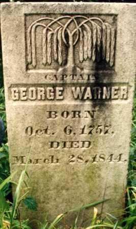 WARNER (RW), GEORGE - Schoharie County, New York | GEORGE WARNER (RW) - New York Gravestone Photos