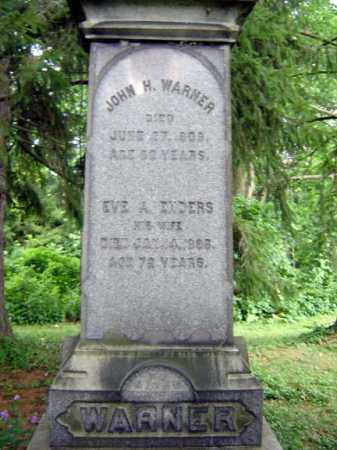 ENDERS WARNER, EVE A - Schoharie County, New York | EVE A ENDERS WARNER - New York Gravestone Photos