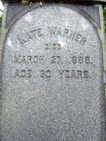 WARNER, KATE - Schoharie County, New York | KATE WARNER - New York Gravestone Photos