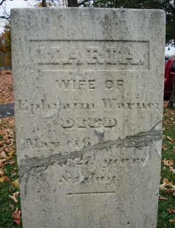 WARNER, MARIA - Schoharie County, New York | MARIA WARNER - New York Gravestone Photos