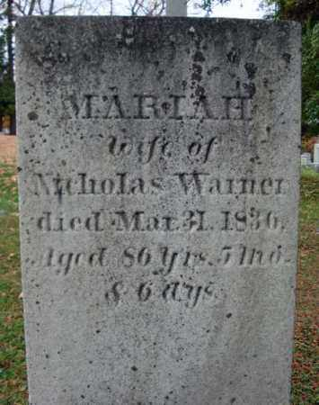SCHAFFER WARNER, MARIAH - Schoharie County, New York | MARIAH SCHAFFER WARNER - New York Gravestone Photos