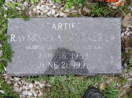 WARNER, RAYMOND A - Schoharie County, New York | RAYMOND A WARNER - New York Gravestone Photos