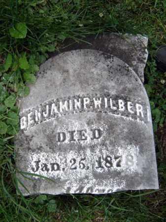 WILBER, BENJAMIN P - Schoharie County, New York | BENJAMIN P WILBER - New York Gravestone Photos